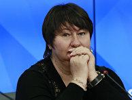Трехкратная олимпийская чемпионка Елена Вяльбе