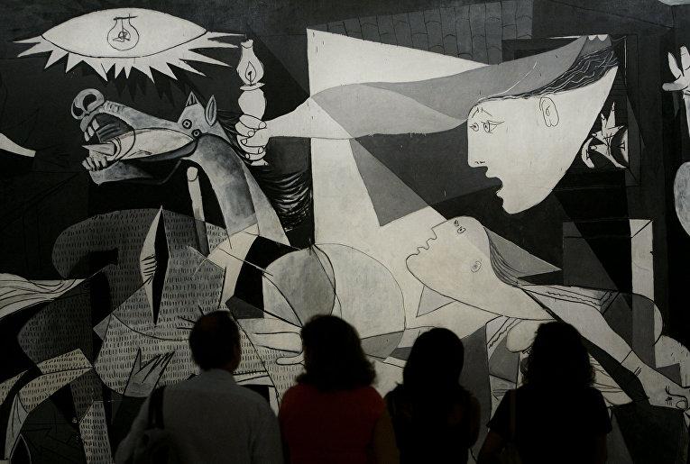 Картина испанского художника Пабло Пикассо «Герника»