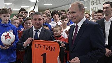 Рабочая поездка президента Путина в Красноярск