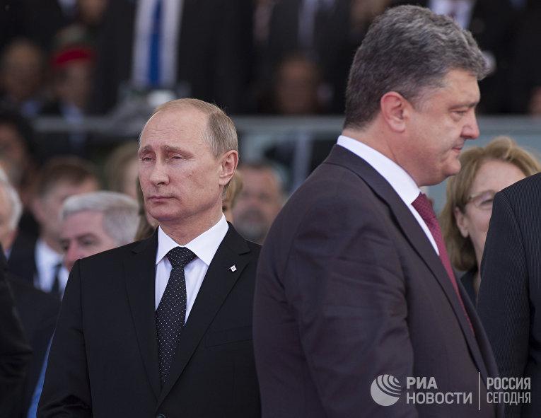 Рабочий визит В.Путина во Францию. Второй день