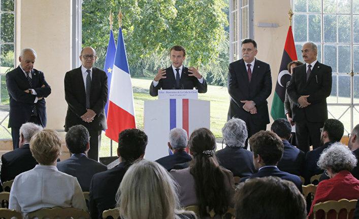 Переговоры ливийских лидеров в Париже. 25 июля 2017