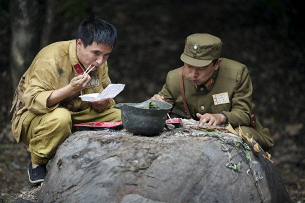 На съемках китайского телесериала «Последний принц»