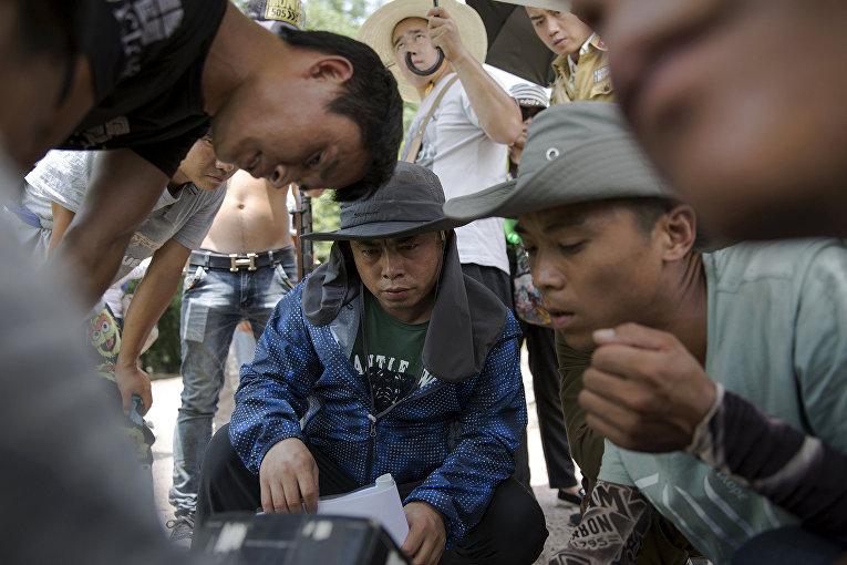 На съемках китайского телесериала о войне с Японией