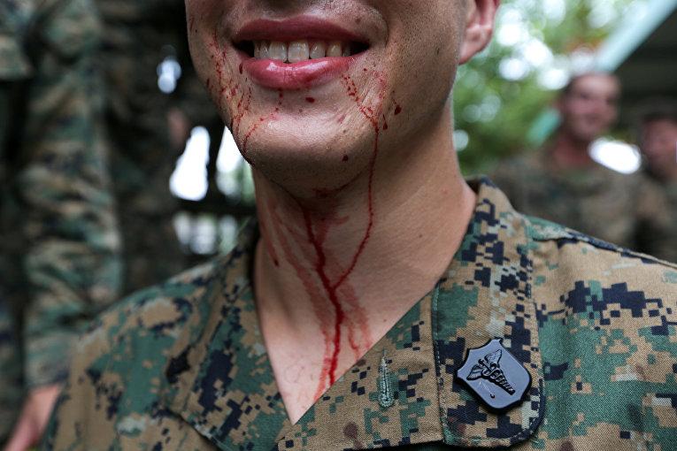 Военные учения «Золотая кобра 2018»