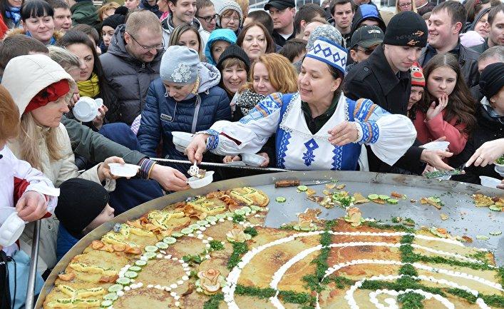 """Белорусский народный праздник """"Зазывание весны"""""""