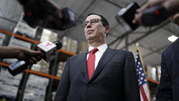Глава Министерства финансов США Стивен Мнучин. Архивное фото