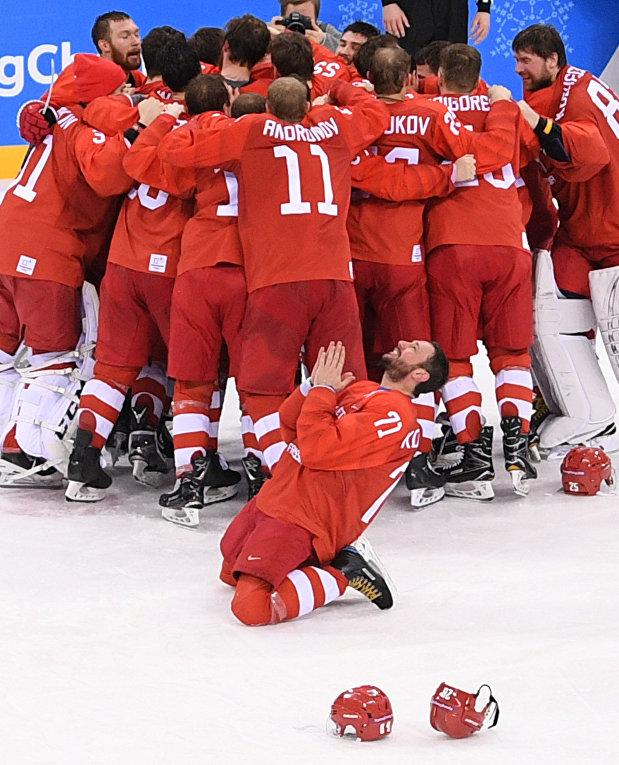 Олимпиада 2018. Хоккей. Мужчины. Финал