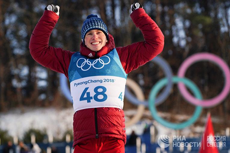 Российский спортсмен Денис Спицов
