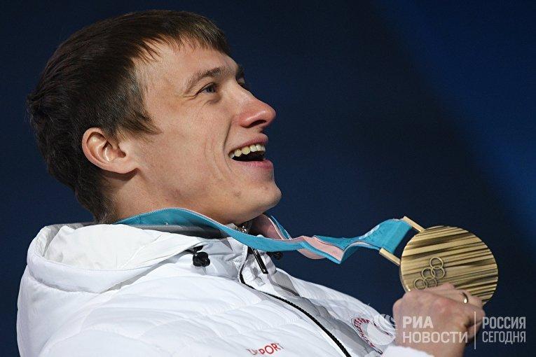 Российский спортсмен Илья Буров