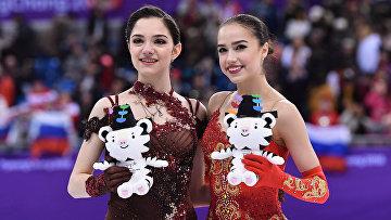Олимпиада 2018. Фигурное катание. Женщины. Произвольная программа