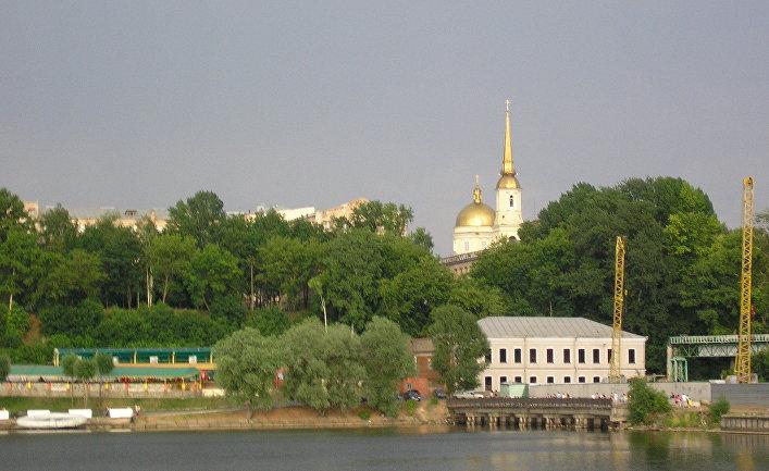 Город Ижевкс в Удмуртской Республике