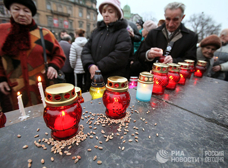 День памяти жертв Голодомора во Львове