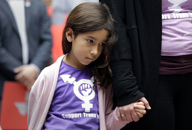 Девочка-трансгендер в Остине, Техас