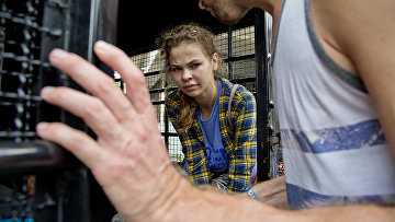 Гражданка Белоруссии Анастасия Вашукевич, задержанная в Паттайе, Таиланд