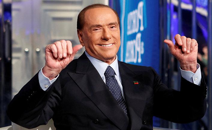 Лидер партии Forza Italia Сильвио Берлускони