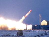 Испытания крылатой ракеты неограниченной дальности с ядерной энергетической установкой
