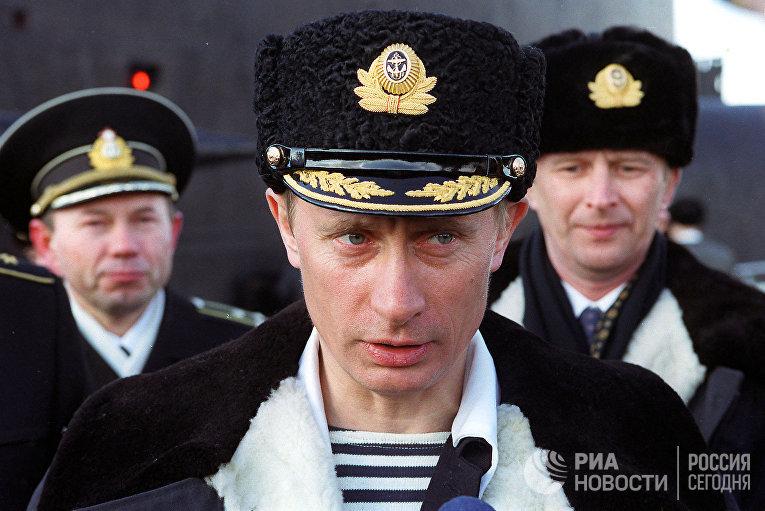 Владимир Путин на учениях Северного флота в Североморске