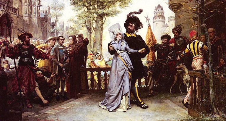 «Право первой ночи» Жюль-Арсен Гарнье, 1872