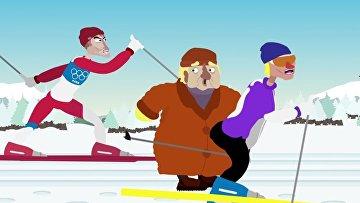Норвежские лыжники — просто психопаты