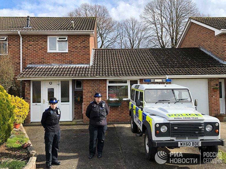 Дом в Солсбери, где жил бывший полковник ГРУ Сергей Скрипаль. 6 марта 2018