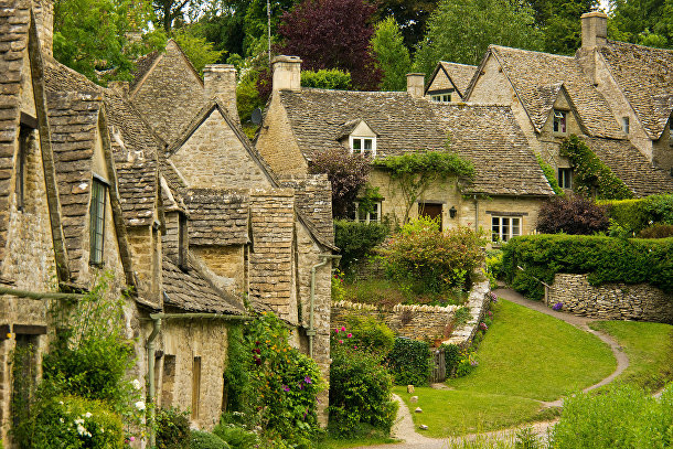Бибери, Англия