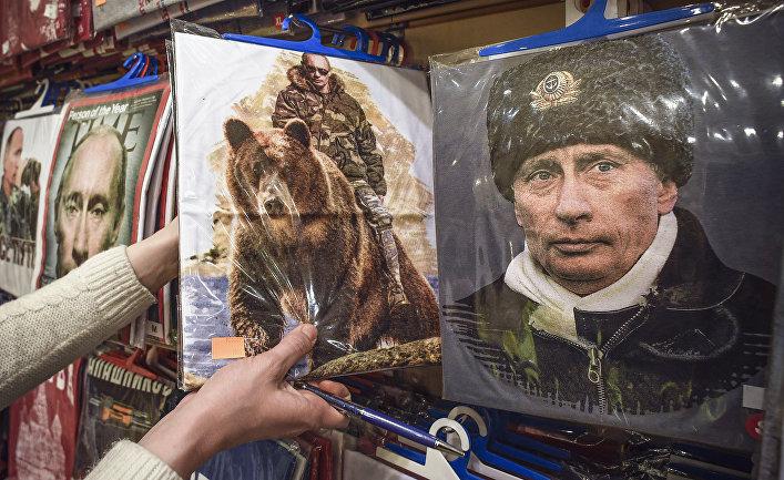 Футболки с изображением Президента России Владимира Путина