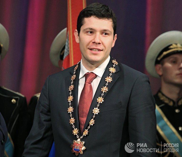 Инаугурация губернатора Калининградской области А. Алиханова