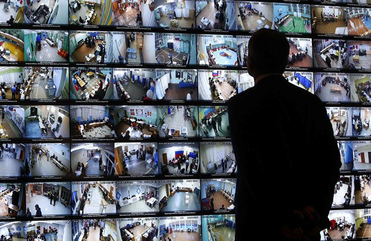 Трансляция изображений с камер наблюдения