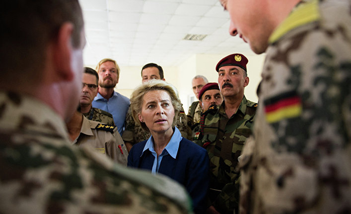 Министр обороны Германии Урсула фон дер Лайен
