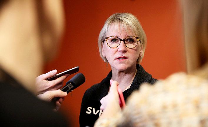 Министр иностранных дел Швеции Маргот Вальстрём