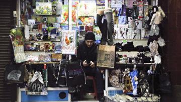 Торговля в подземном переходе в Киеве