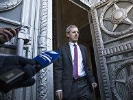 Посол Великобритании в России Лори Бристоу в здании МИД России