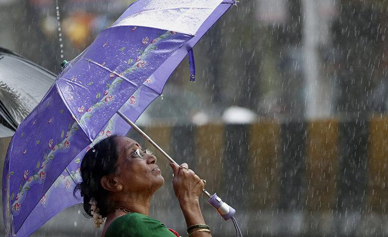 Ливень в Мумбаи