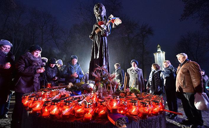 День памяти жертв голодомора в Киеве