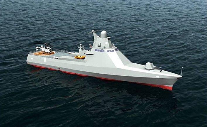 """Модель патрульного корабля """"Виктор Великий"""""""