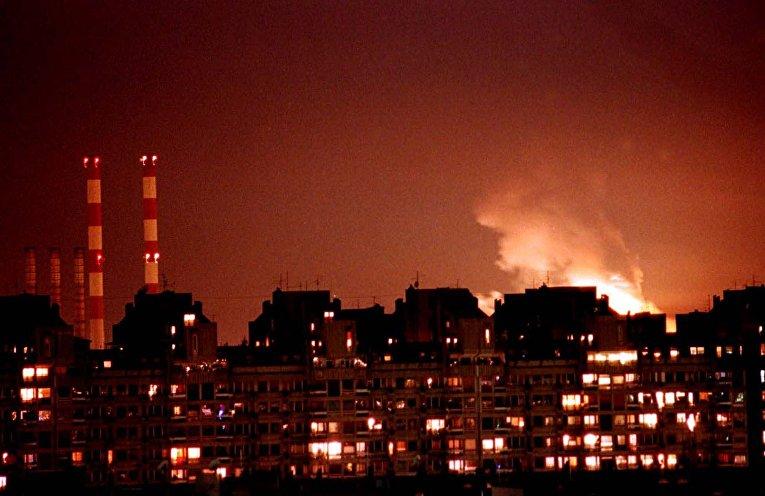Бомбордировка Белграда силами НАТО в 1999 году