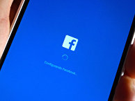 """Фейсбук"" на смартфоне"