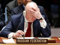 Посол России в ООН Василий Небензя