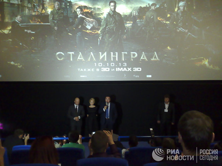 """Премьера фильма """"Сталинград"""" в Волгограде"""
