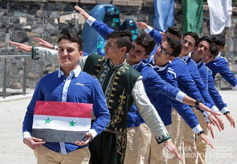 """Отдых сирийских детей в """"Артеке"""""""