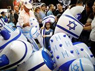 Празднование дня независимости Израиля в городе Ашкелон