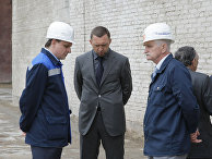 Премьер-министр РФ Владимир Путин провел совещание в городе Пикалево