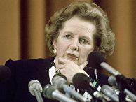 Премьер-министр Великобритании Маргарет Тэтчер, 1987 г.
