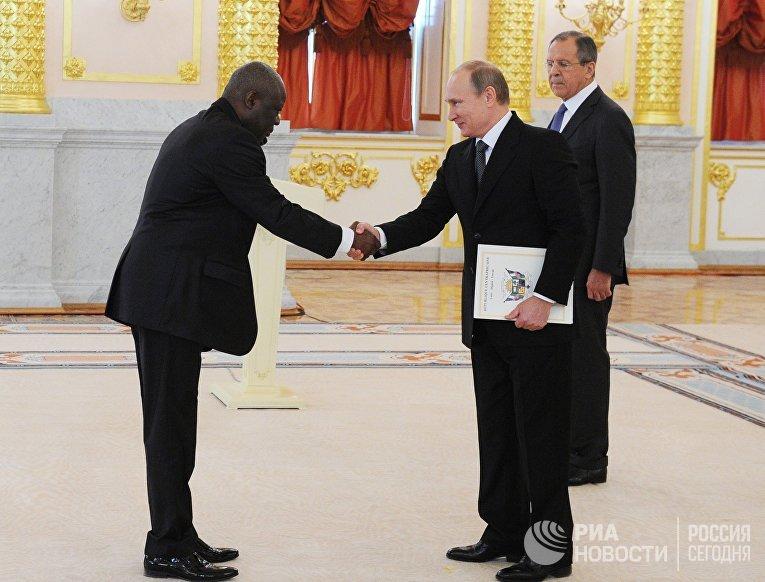 В.Путин принял верительные грамоты у послов иностранных государств