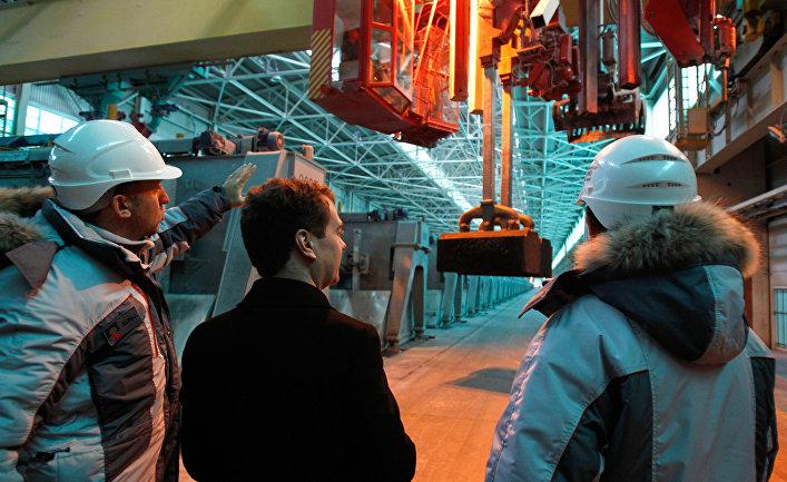 Рабочая поездка Дмитрия Медведева в СФО
