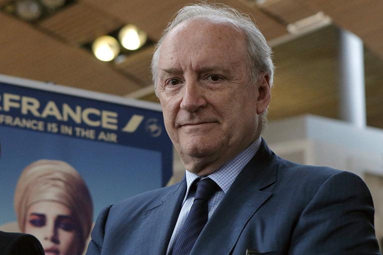 Бывший министр иностранных дел Франции Юбер Ведрин