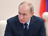 Президент РФ Владимир Путин проводит совещание по экономическим вопросам. 28 марта 2018