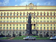 Лубянская площадь. Памятник Ф.Э.Дзержинскому
