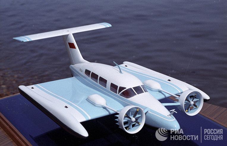 """Модель судна на динамической воздушной подушке """"Волга"""""""