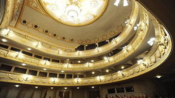Зрительный зал Екатеринбургского театра оперы и балета